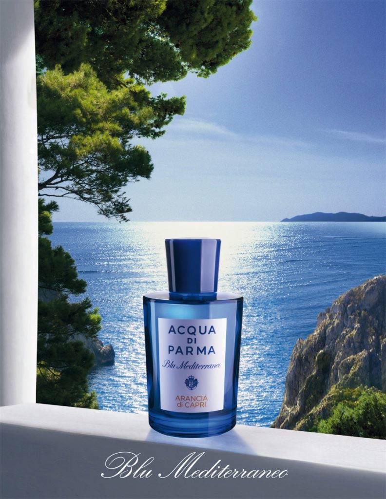 Visuel Acqua Di Parma Blu Mediterraneo, un voyage de senteur