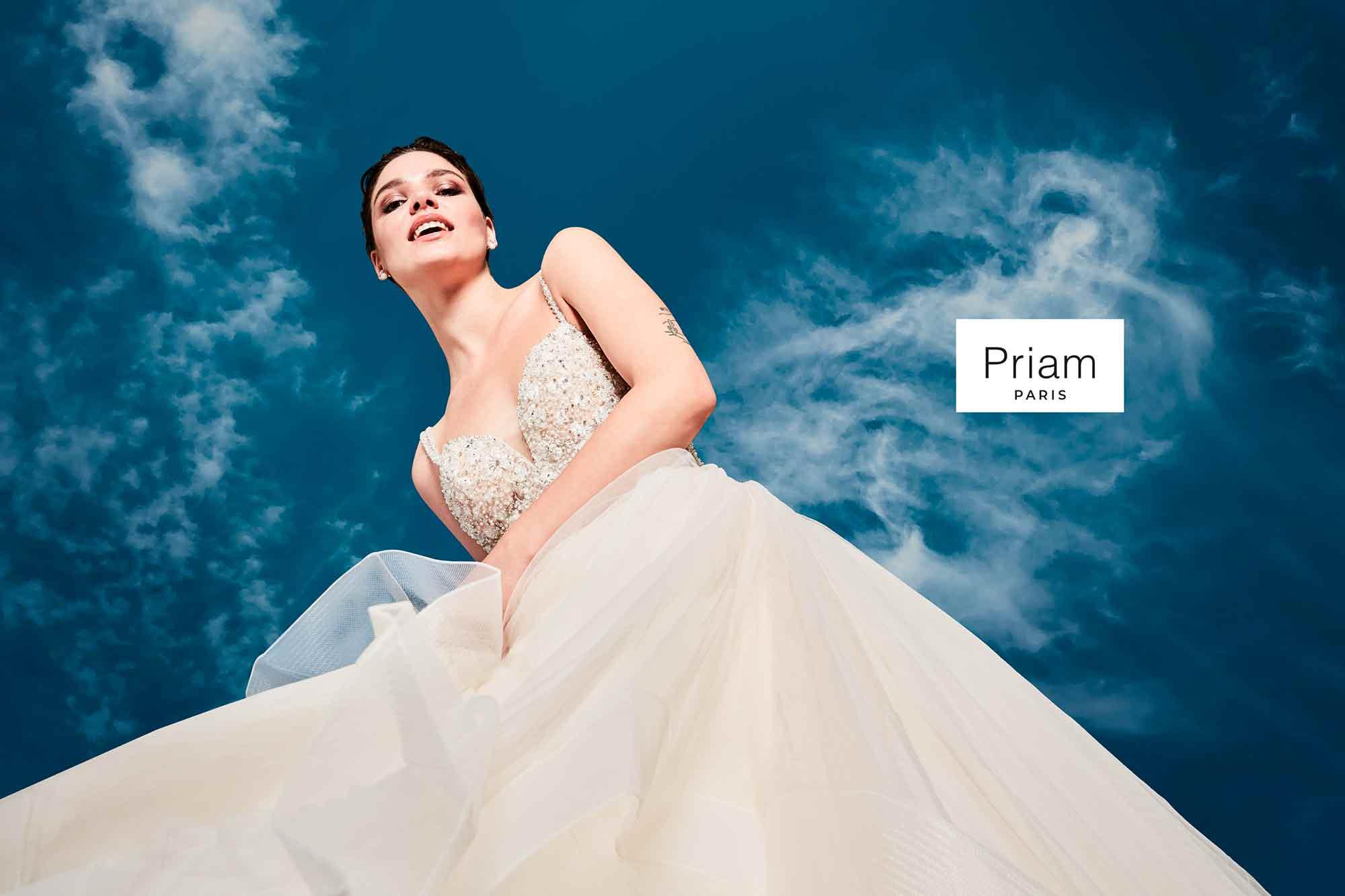 Les Gauchers Studio pour Priam Robes de Mariées 2020